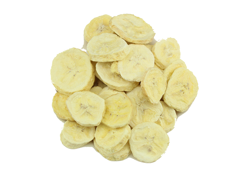 冻干香蕉片